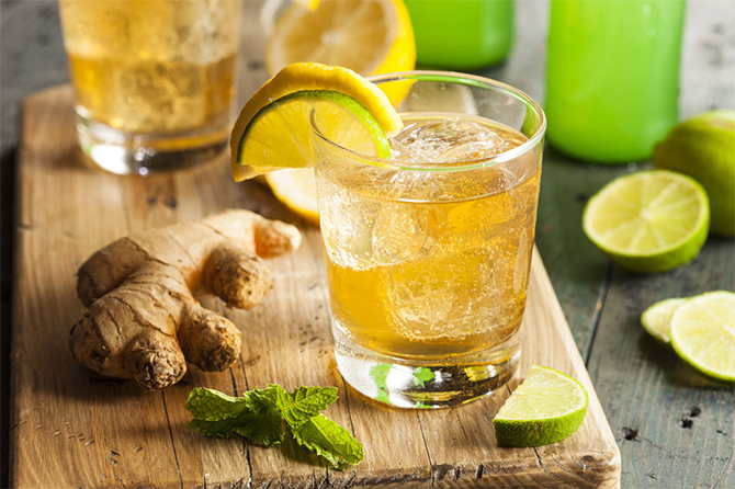 this recipe comes from the caribbean, its particularity; it warms and cools at the same time, not to mention its unique and delicious taste. Here is the method for making homemade ginger beer with thermomix.