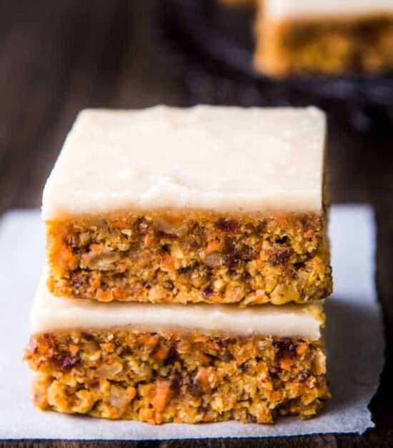 NO BAKE CARROT CAKE WITH THERMOMIX INSTRUCTIONS